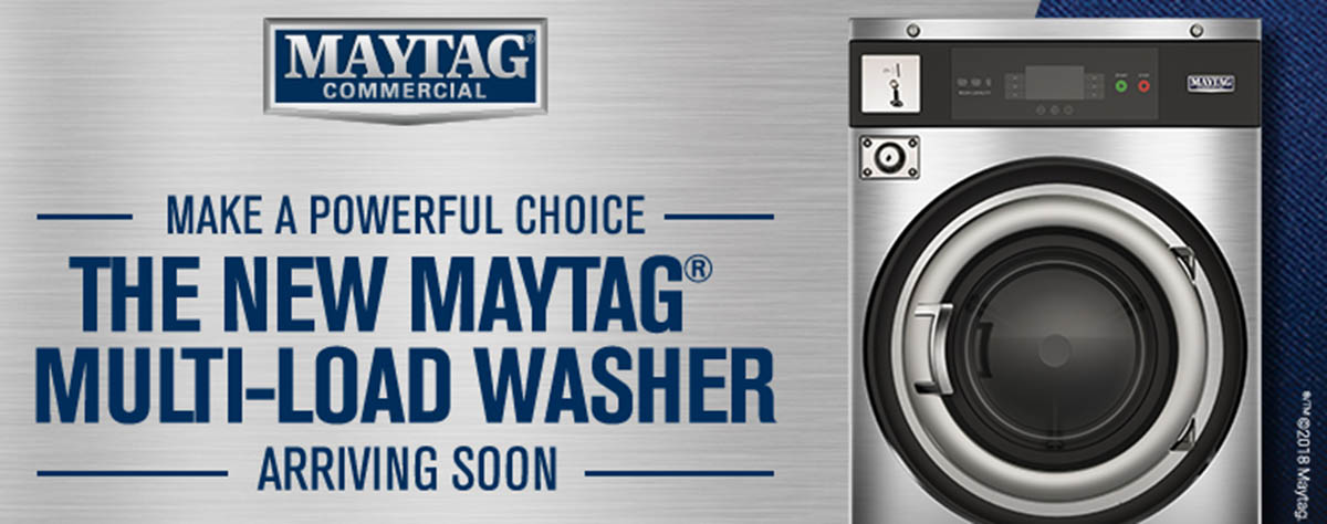 New Maytag Commercial Multi-Load Laundry Coming Soon.
