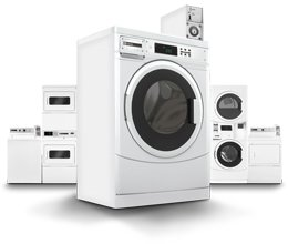 Multi-Housing laundry equipment by Maytag
