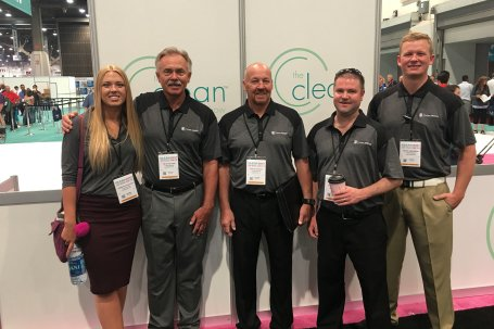 The Clean Designs team at The Clean Show 2017 in Las Vegas, Nevada