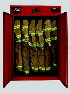 Firehouse Commercial Firemans Gear Drying Cabinet