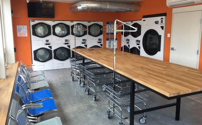 Maytag Commercial Stacked 30# Dryers, Single Pocket 75#