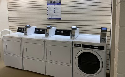 Coin & Credit Card Vended Dryers