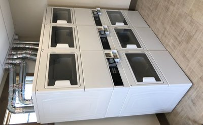 Maytag Commercial Stacked Dryers